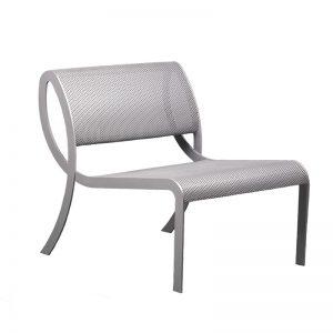 larosa design loop chair aluminum