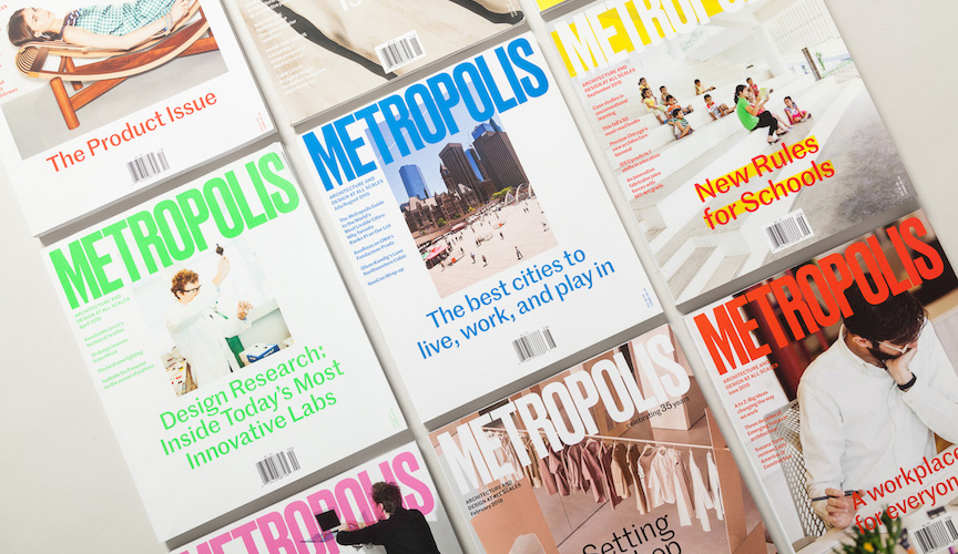 Larosa Design - Metropolis magazine